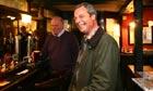 Ukip's Nigel Farage in the pub