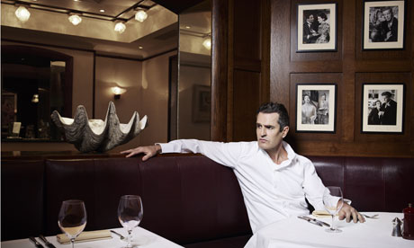 Rupert Everett at J Sheekey's