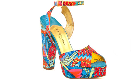 Terry de Havilland's outlandish Tiffany Blue high heels