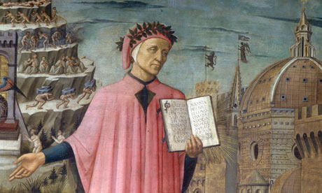 Dante Alighieri contemplating getting the Dan Brown treatment.
