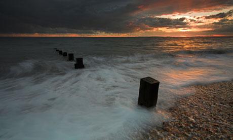 Keyhaven Beach, Hampshire, UK. Image shot 2007. Exact date unknown.