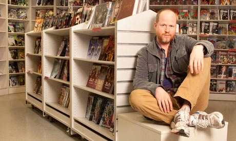 Joss Whedon at Forbidden Planet, London