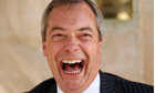 (UKIP) leader Nigel Farage