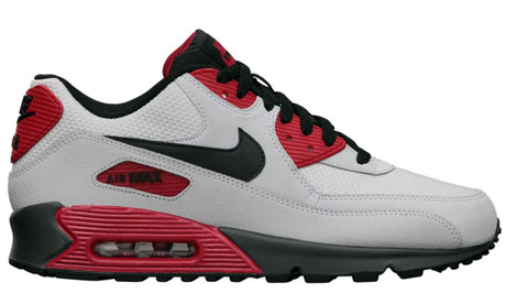 ... Nike Air Max 2009 Mens Running Shoe Black Red Fashion ...