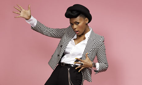 Janelle Monáe in London.