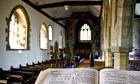 interior english church
