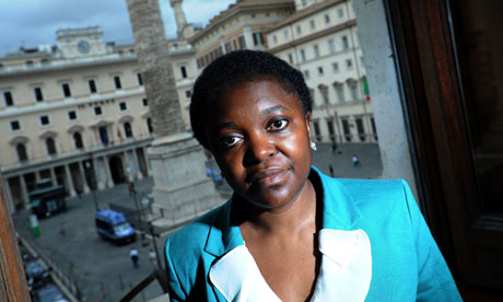 Cecile Kyenge, Italy's minister for intergration