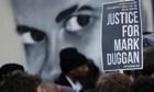 Mark Duggan vigil