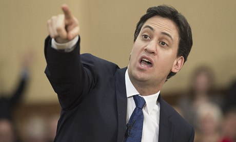 Ed Miliband at the University of London, Britain - 17 Jan 2014