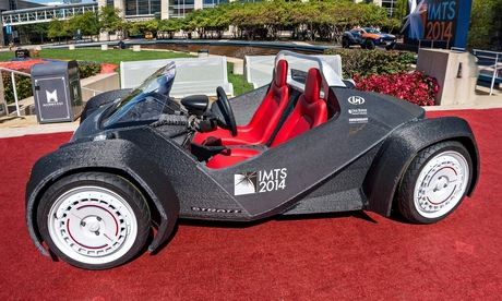The Strati: a 3D-printed electric car that could be built in 24 hours