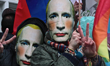 Gay-rights Russian embassy