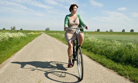 Cycling into a headwind