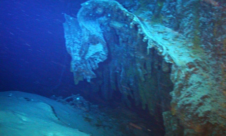 The wreck of the SS Gairsopp