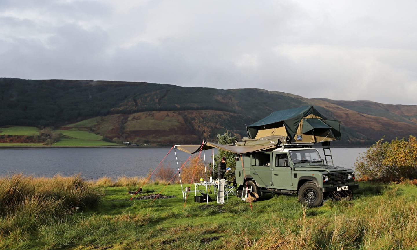The wilderness in comfort ... wild glamping in Scotland ...