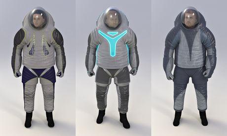 Nasa's new spacesuit designs