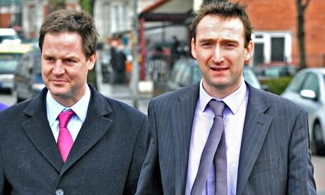 Nick Clegg and John Leech