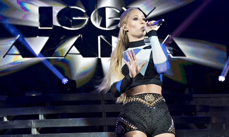 Iggy Azalea review  hip-hops bright blond star defies the haters