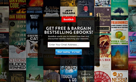 BookBub – it's Groupon for ebooks