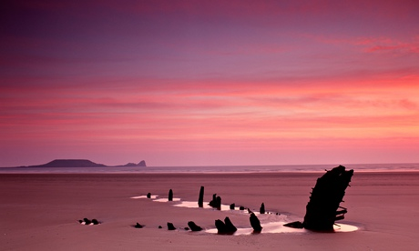 Great country walks: Rhossili bay, Gower peninsula, south Wales