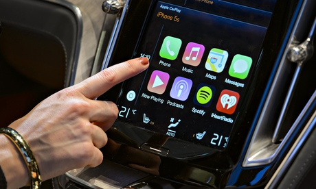 Phone interfaces in cars? Drivers don't need more distractions