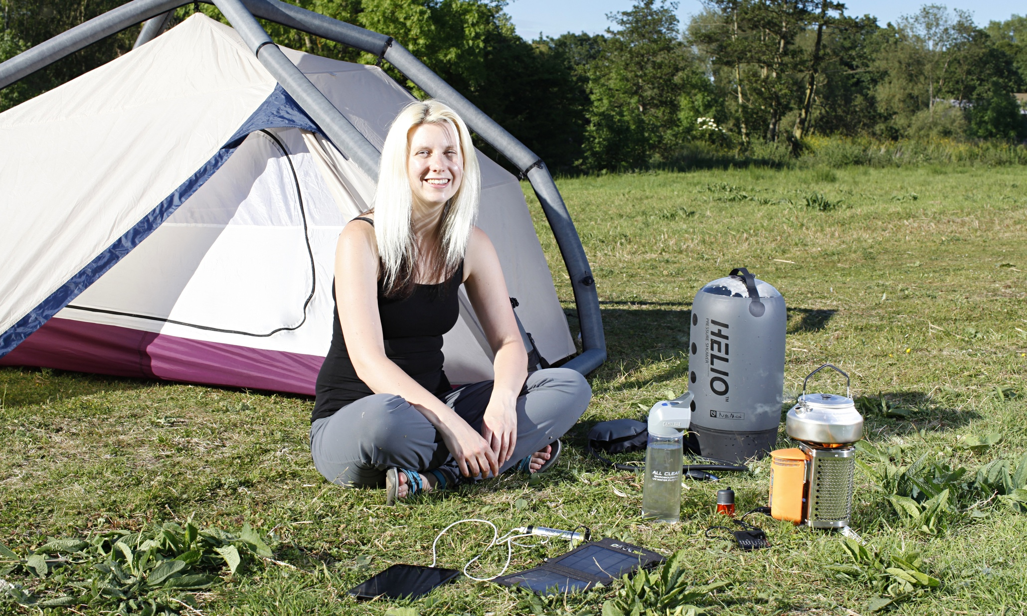 Camping in comfort: from inflatable tents to a stove that ...