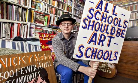 Bob and Roberta Smith: 'Soon there won't be any kids with estuary accents in art schools'