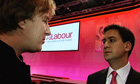 John Harris interviews Ed Miliband at the Labour party conference