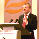 Charles Kennedy at the Lib Dem conference