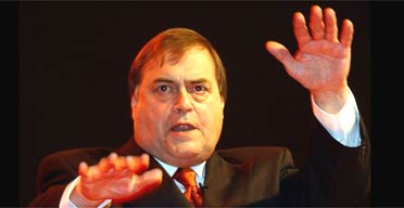 John Prescott gives his conference speech