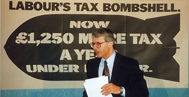 John Major, 1992 election