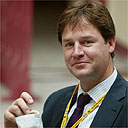 Nick Clegg. Photograph: Martin Argles