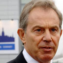 Tony Blair at the Nato summit in Riga, Latvia, on November 29 2006. Photograph: Stefan Rousseau/PA.