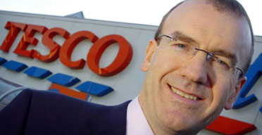 Sir Terry Leahy, the chief executive of Tesco. Photograph: Jason Alden/Newscast/PA.