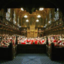 The House of Lords. Photograph: Martin Argles.