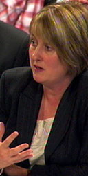 Jacqui Smith at the Commons home affairs select committee on October 22 2007. Photograph: PA
