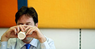 Nick Clegg on October 22 2007. Photograph: Martin Argles