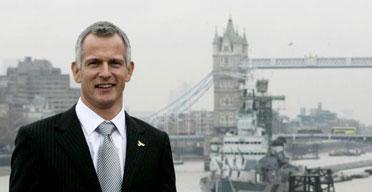 Brian Paddick, the Liberal Democrat candidate for mayor of London, on November 13 2007. Photograph: Andrew Parsons/PA Wire