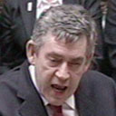 Gordon Brown at prime minister's question time on November 21 2007. Photograph: PA Wire