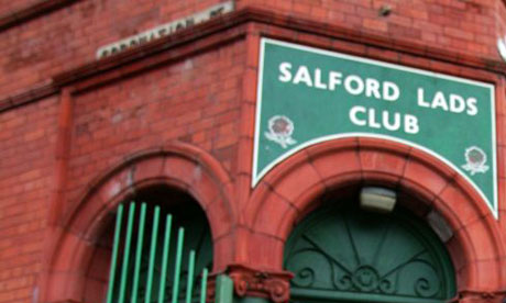 Salford Lads Club, as featured on the Smiths' The Queen is Dead album. Photograph: Don McPhee