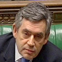 Gordon Brown at prime minister's question time on January 16 2007. Photograph: PA