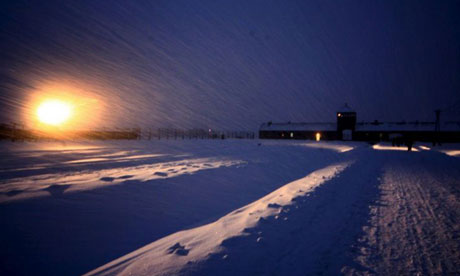 Auschwitz concentration camp in 2007. Photograph: Ciro Fusco/EPA