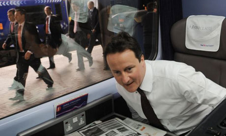 Cameron and Brown on same train – yeah 'its the stop the ...