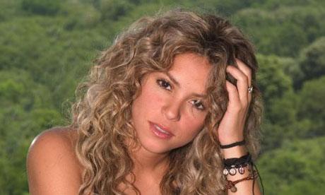Shakira. Photograph: Jim Cooper/AP