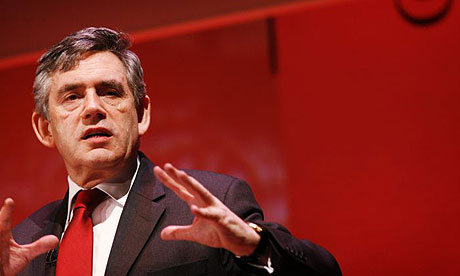 Gordon Brown at the Institute of Directors