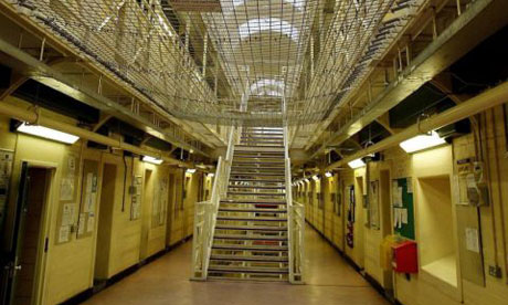 Wakefield prison. Photograph: Gareth Copley/PA Wire