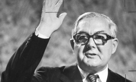James Callaghan, the prime minister, in 1977. Photograph: Don McPhee