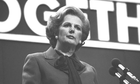 Margaret Thatcher, prime minister, in 1980. Photograph: PA/PA Archive