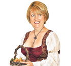 Jacqui Smith as the Wife of Bath. Illustration: Steve Caplin
