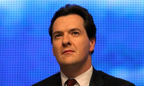 George Osborne at the Conservative conference in Birmingham on September 28 2008. Photograph: Christopher Furlong/Getty Images