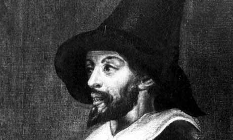 A portrait of Guy Fawkes during his time in captivity